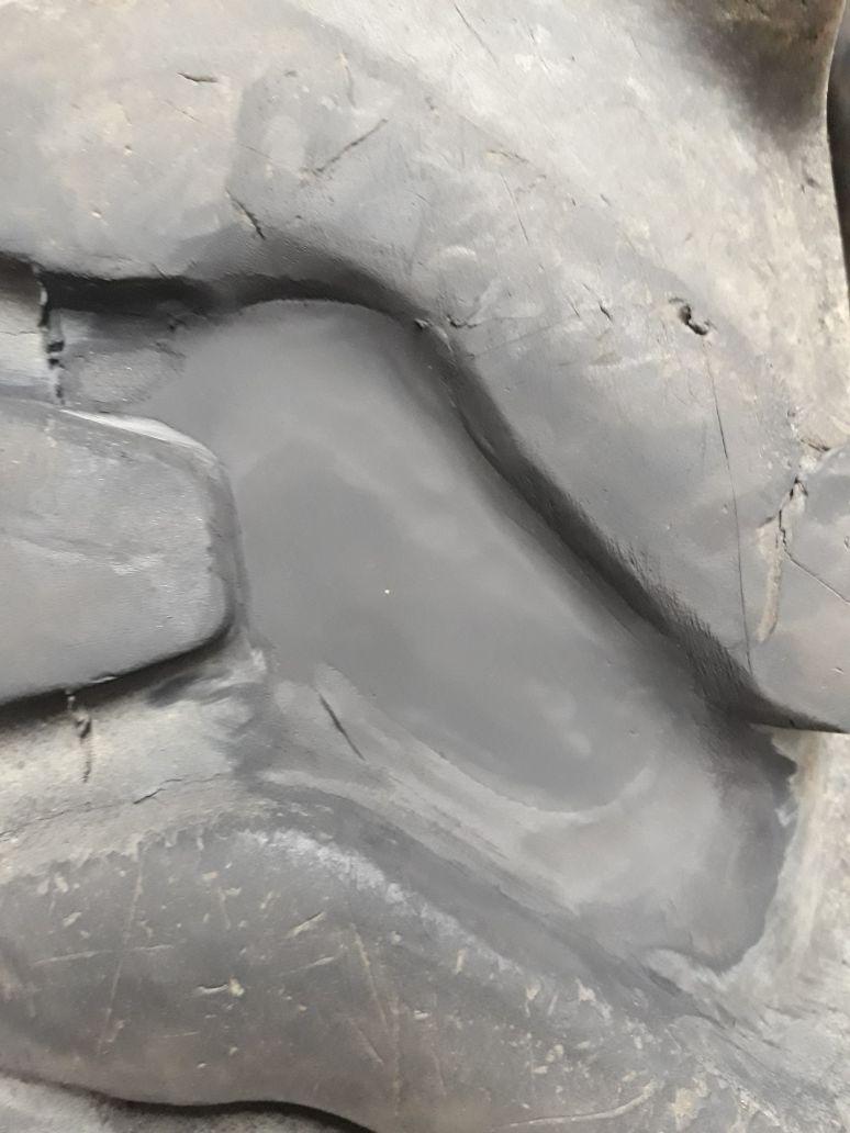 Шина КГШ после ремонта в Шинном центре МВБ. Луховицы, 136 км трассы М5 Урал