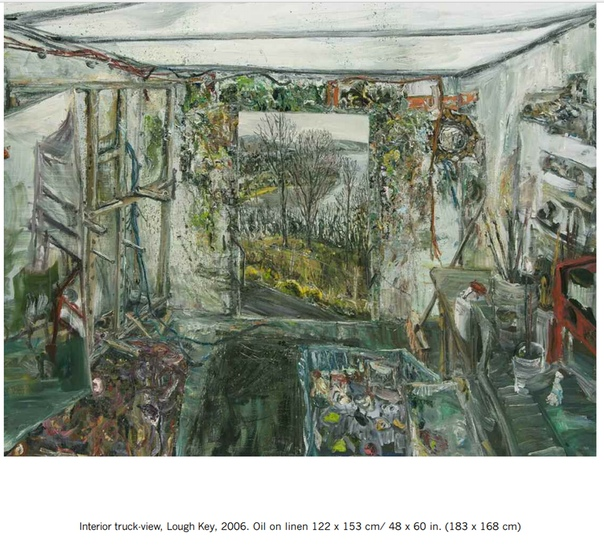 Передвижная студия Ника Миллера ( 1962 г.р. Ирландия)