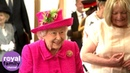 The Queen Insists That She's Not Too Old to Plant a Tree