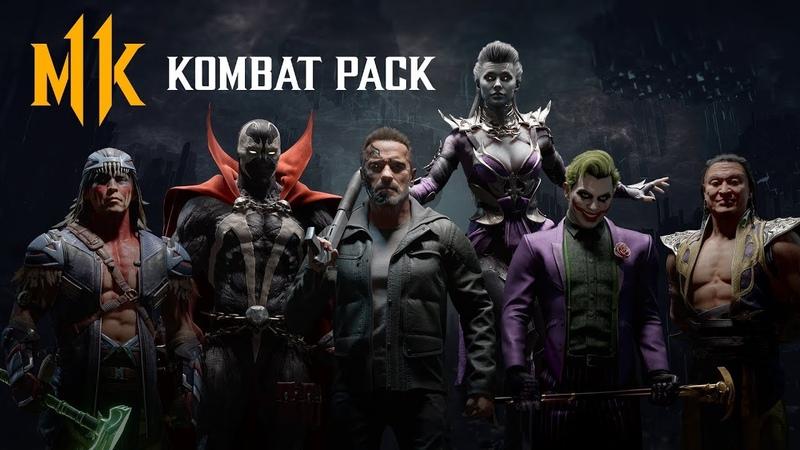 Разработчики из Netherrealm официально анонсировали всех бойцов сезонного пропуска для Mortal Kombat 11 в который вошли сразу три гостевых персонажа