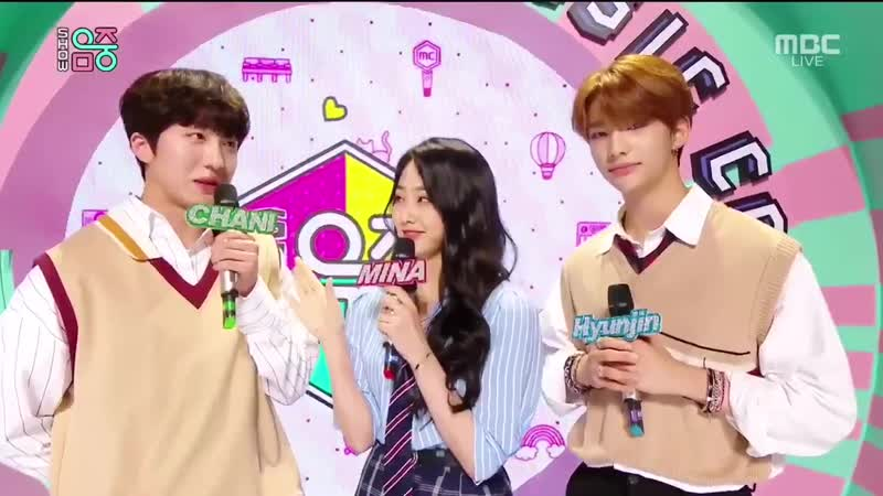 [190720] Stray Kids » Hyun Jin » MC » Show! Music Core