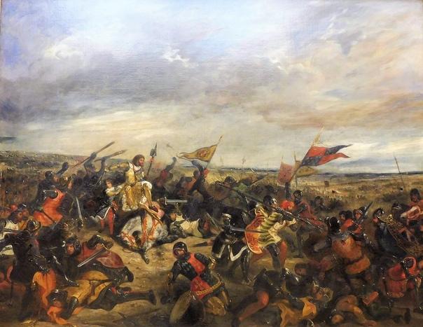 Битва при Пуатье (1356) Крупное сражение, состоявшееся 19 сентября 1356 года между английской армией Эдуарда Чёрного Принца и французскими войсками короля Иоанна II Доброго во время Столетней