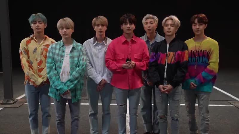 190706 [twitter KKBOX_JP] 🎤BTSの最新曲配信中🎤 韓国のヒップホップボーイズグループ BTS から動画コメントが届きました❗️✨ 世界で大活躍する彼らの音楽を今すぐ聞きたい方はこちら🎧