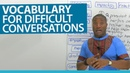 English Vocabulary for difficult situations: confess, regret, condolences