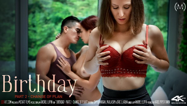 SexArt - Birthday Part 2 - Change Of Plan