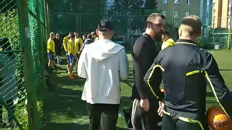 Динамо - Вымпел 1-й тайм