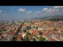 Zagreb, Croatia/Хорватия,Загреб с высоты птичьего полёта