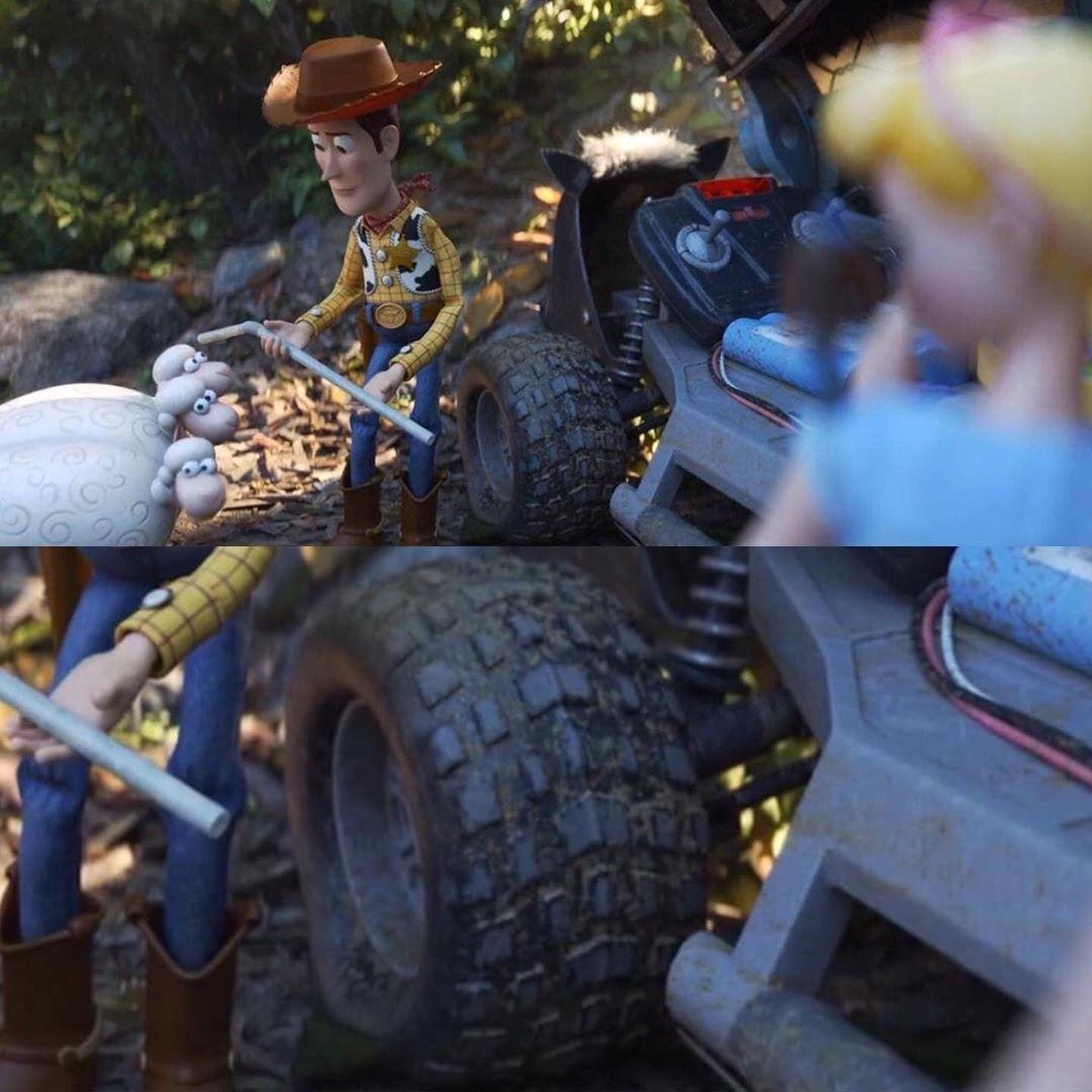 Детализация в мультфильме «История игрушек 4»