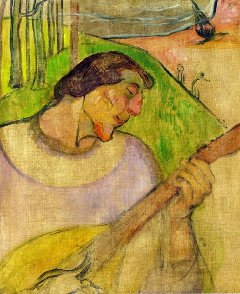 Автопортреты Пола Гогена Творчество Поля Гогена было революционным для своего времени. Впервые вместо античного идеала европейской публике были представлены образы варварские. Культура