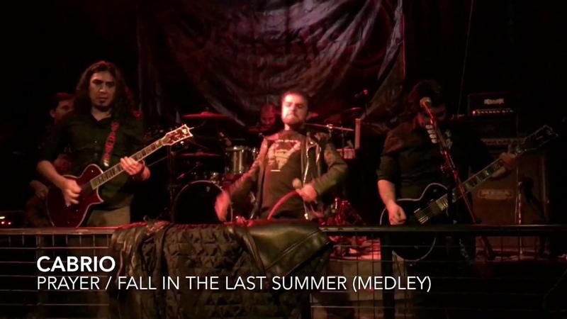 Cabrio - Prayer Fall in the last summer [Medley] (Bar Oxido 17.6.2017)