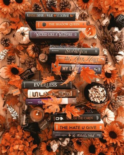 Подборка книг, которые спасут вас от осенней меланхолии