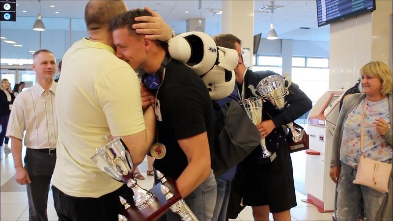 Призеры Кубка Мира KWU Болотов Вадим и Болотов Виталий вернулись в Новосибирск