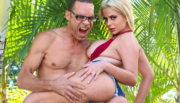 BangBros - Busty Colombian Takes on an Anal Challenge