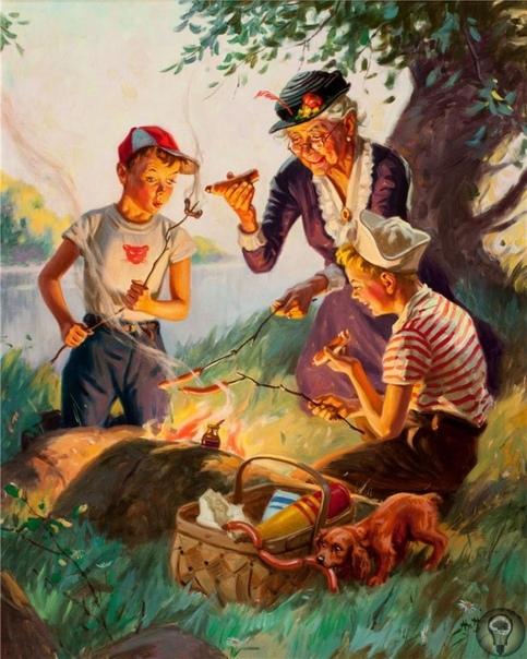 Как воспитывать внуков: пособие для бабушек от отца и сына Хинтермайстеров. Джон Генри Хинтермайстер родился в Швейцарии в 1869 году. После получения профессионального образования эмигрировал в