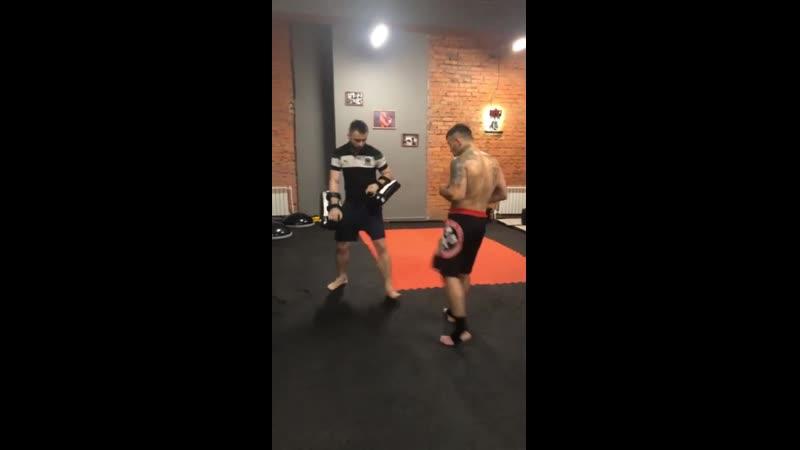 Тренировка у Игоря Бондаря BV GUM Калуга ул. Генерала попова 3