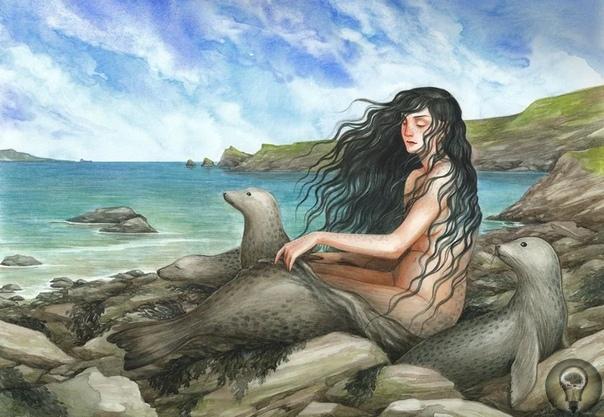 Удивительные мифические люди-тюлени