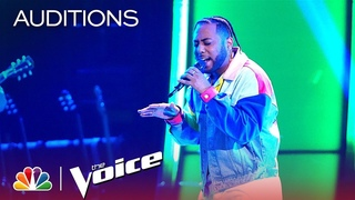"""Julian King Showcases His Powerful Vocals with """"All Time Low"""" - The Voice Blind Auditions 2019"""