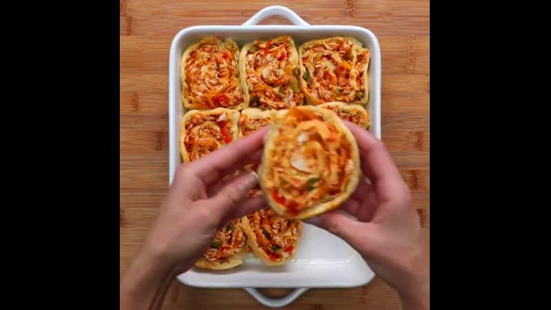 4 Way twisted sandwiches , 4-х сторонние крученые бутерброды