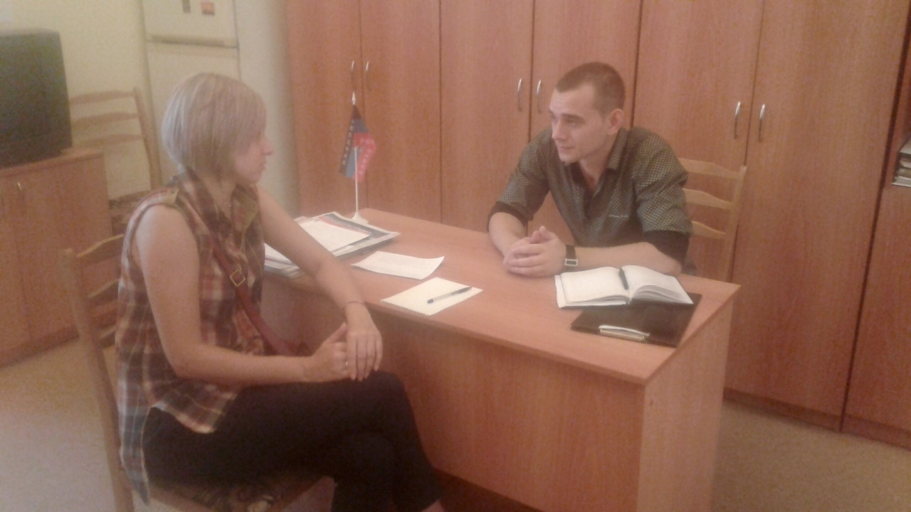 Сотрудники Донецкого городского управления юстиции подвели итоги участия в общественных приемных за июль 2019 года