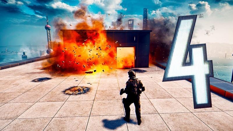 Battlefield 4 Random Moments 103 (Robot Wars, Leap Frog!)