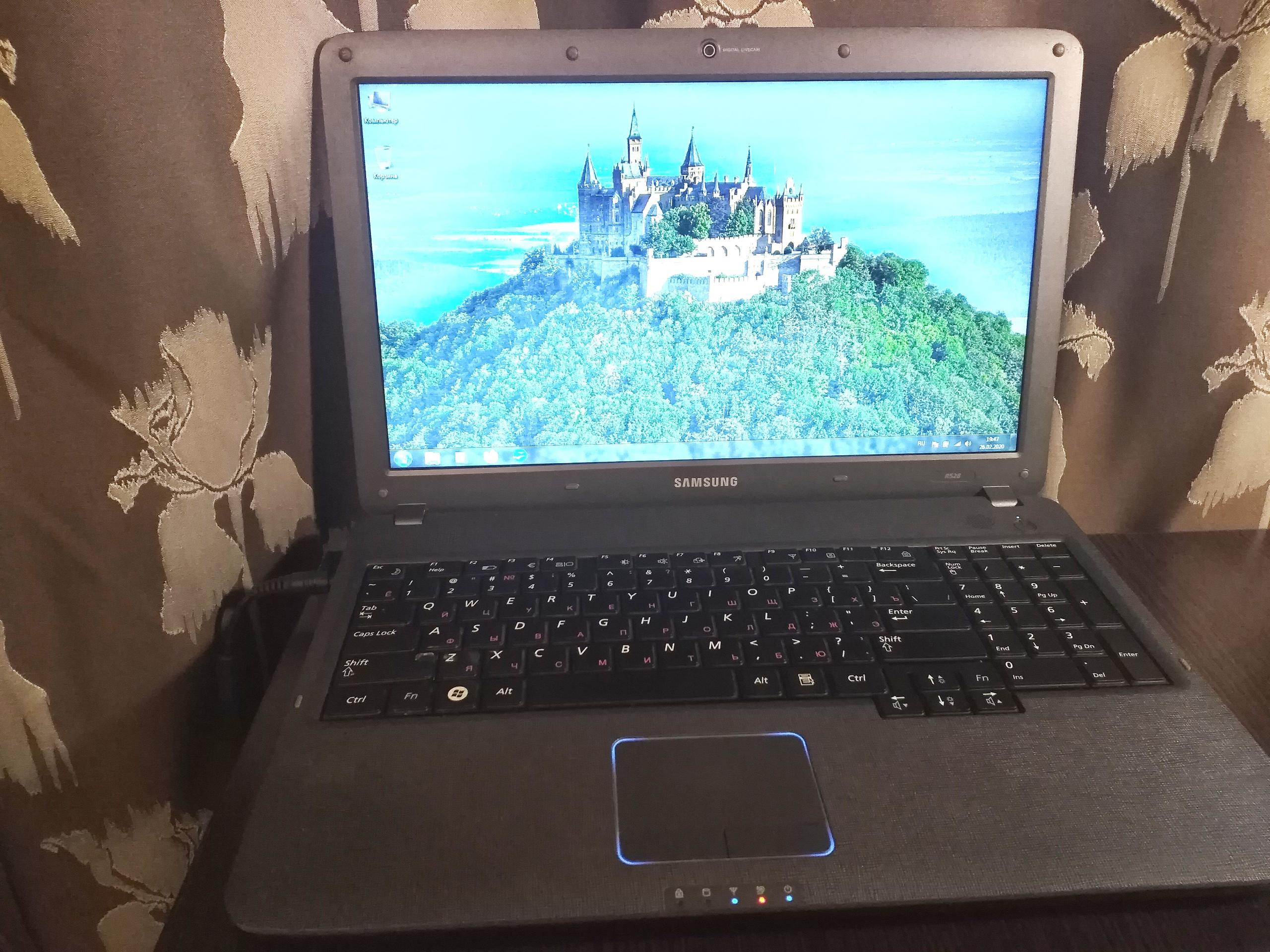 Купить ноутбук Samsung R528. Состояние | Объявления Орска и Новотроицка №1914