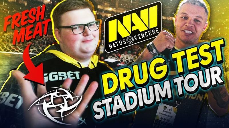 NAVIVLOG Матч vs NiP, Допинг Тест, Экскурсия по Стадиону ESL One Cologne 2019