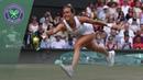 Barbora Strycova vs Johanna Konta Wimbledon 2019 quarter-finals highlights