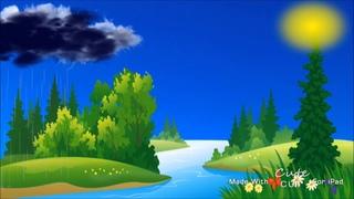 Откуда берется дождь? Развивающий мультфильм для детей.