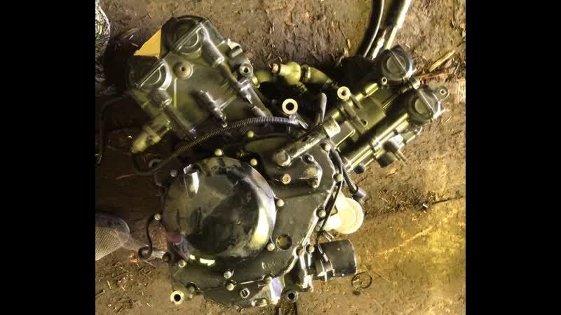 Проверка контрактного двигателя Suzuki SV650 P503 перед отправкой клиенту | motod.ru