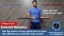 Shoulder Exercises for frozen shoulder and rotator cuff strengthening by Dr Manu Bora