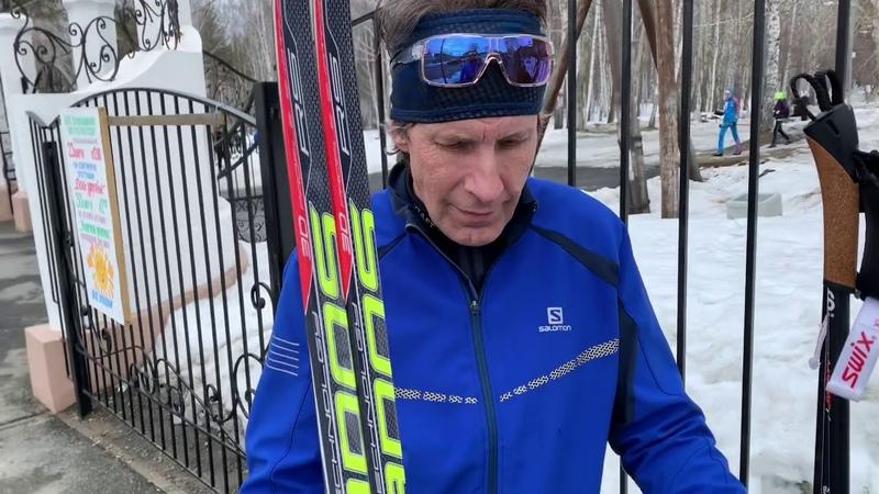 Лыжи STC Brados накатили Fischer Speedmax !