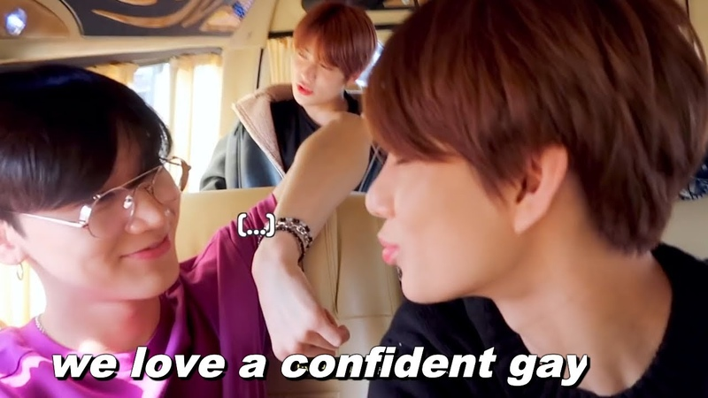NCT Jungwoo flirting with members for 5 minutes straight