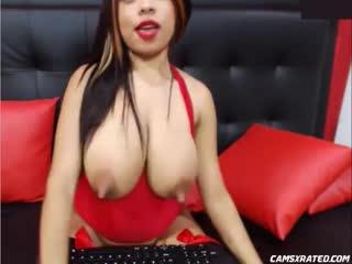 Enormous nipples