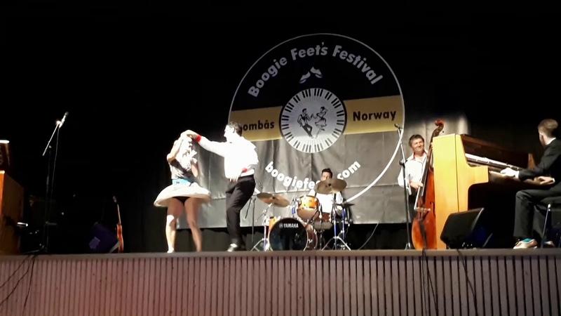The Boogie Woogie Fight! Tanya, Sondre Balazs - Boogie Feet's Festival 2018