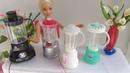 4 Liquidificadores Miniaturas Ideias Reciclando - Blenders Ideas Recycling Barbie Dolls