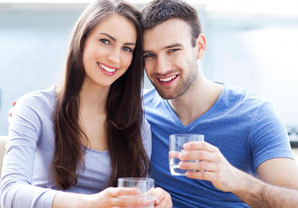 Питьевая вода может транспортироваться через чугунную трубу.