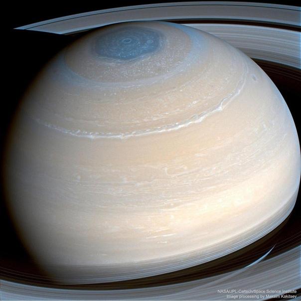 Снимок Сатурна в самом высоком на сегодняшний день разрешении