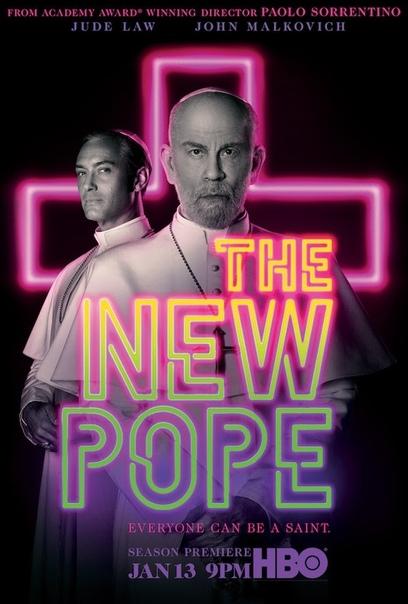 Джуд Лоу и Джон Малкович в полноценном трейлере «Нового Папы» Возвращаемся в Ватикан 13 января.