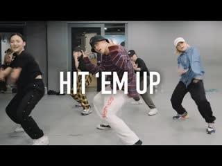 1million dance studio 2pac hit `em up ⁄ enoh choreography