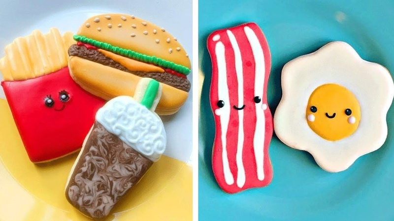 Top 10 Beautiful Cookies Decorating For Family   How to Make Chocolate Cookies Recipes