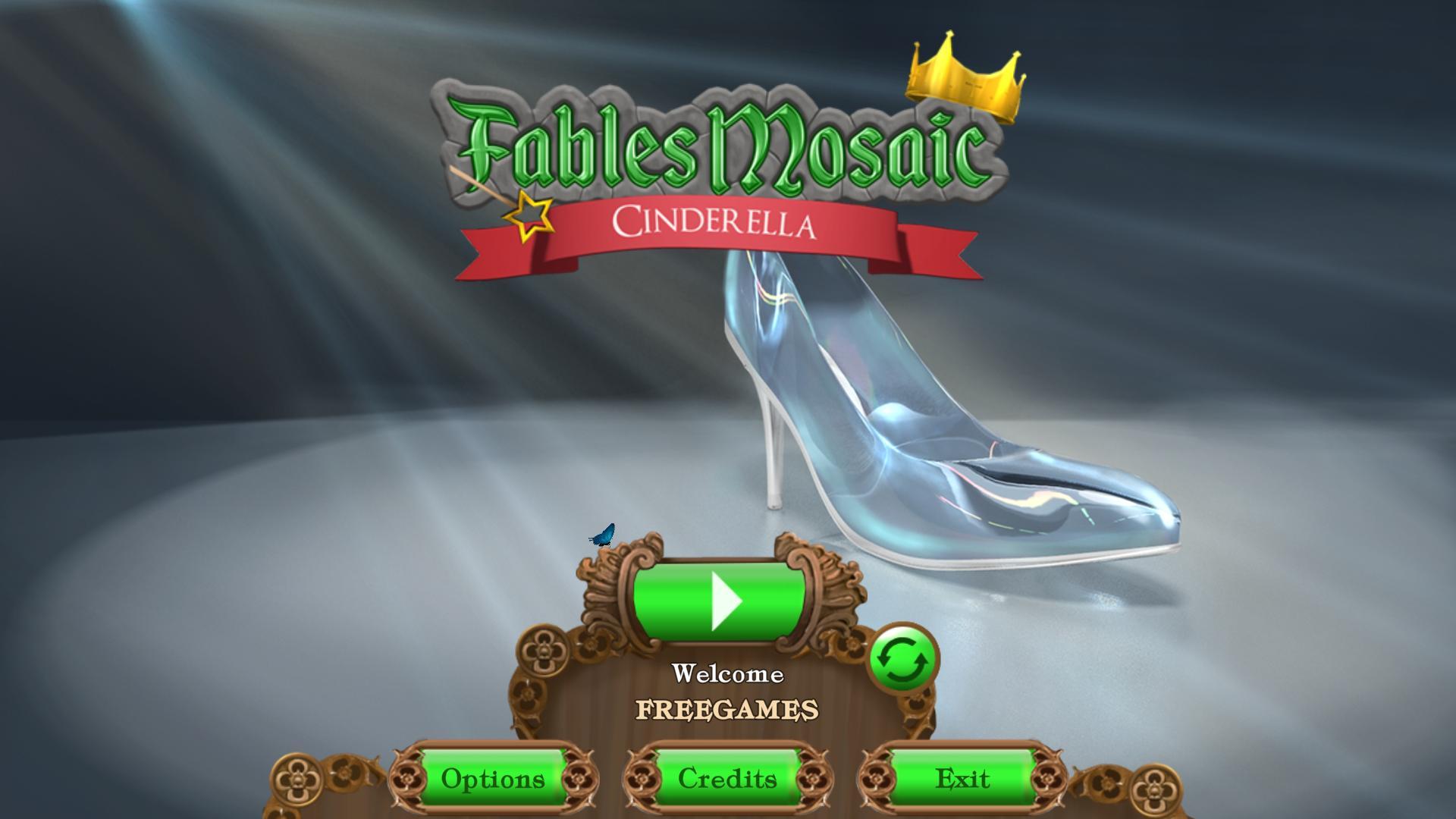 Сказочная мозаика 3: Золушка | Fables Mosaic 3: Cinderella (En)