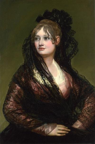 « одного шедевра». «Портрет донны Исабель де Порсель», Франсиско де Гойя