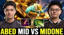 MIDONE Mid vs ABED 10K Battle again Invoker Lord vs Magic Gyrocopter 7 22 Dota 2