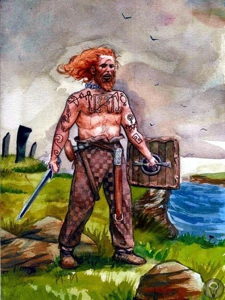 О таинственном племени пиктов Был в средневековой Европе народ, о котором до наших дней почти не дошло никаких сведений. Это пикты. Они расположились на окутанной туманной дымкой местности к