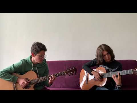 Земфира Хочешь Fingerstyle Guitar Cover feat Oleg Sokoluhin