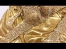 Золотой костюм для танца живота от Golubeva design