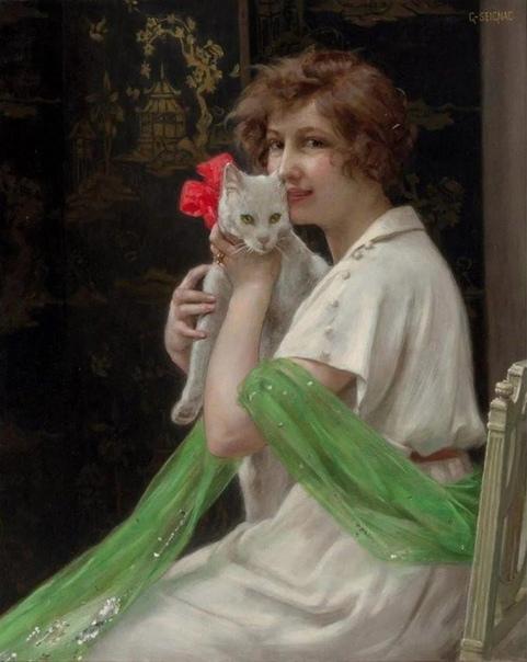 Французский художник Гийом Синьяк видный представитель позднего академизма, который в своих картинах прочно закрепил и воссоздал классические традиции Родился художник в городе Ренн в 1870 г. В