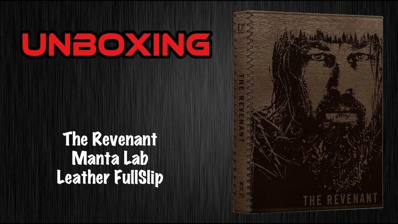 The Revenant Manta Lab Leather FullSlip Unboxing