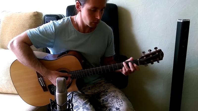 Green Day Boulevard Of Broken Dreams acoustic cover