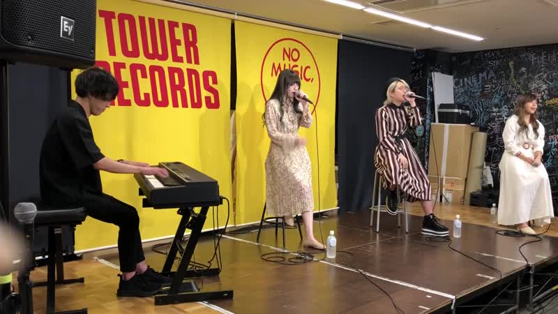 Wagamama Rakia - The Reason (Piano bansou) (Live at the release event in Tower Record Namba) (2019.07.08)